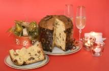 Traditional Italian Christmas Panettone