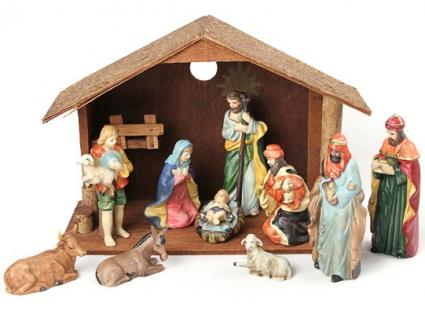 religious christmas decorations lovetoknow - Christian Outdoor Christmas Decorations