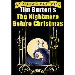Tim Burton's Nightmare Before Christmas DVD