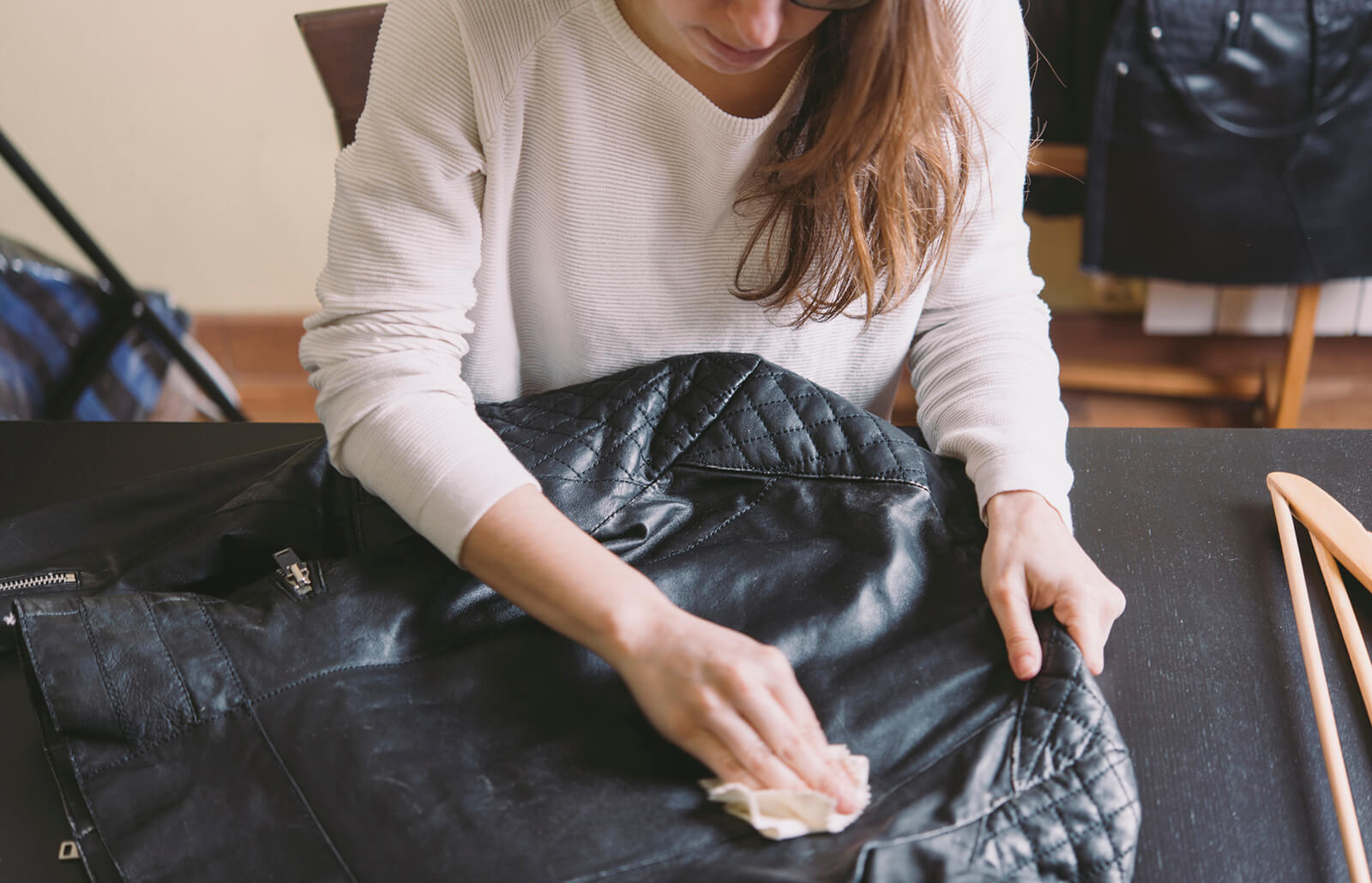 How To Clean A Leather Jacket At Home