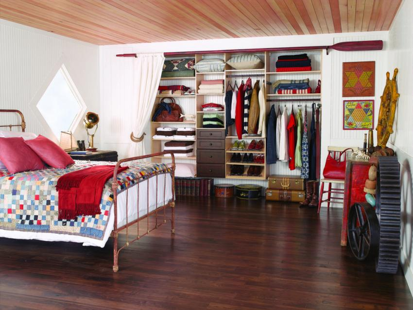 Multi Level Closet