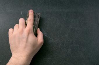 Blackboard Cleaning