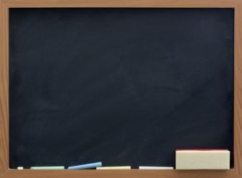 Chalkboard Cleaning Tips
