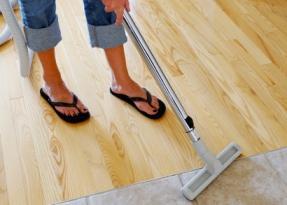 How to Steam Clean Hardwood Floors