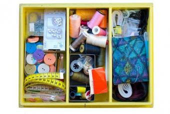 Suggestions for Organizing Sewing Room Supplies