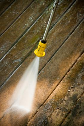 What Household Products Can I Use to Clean My Wood Deck?