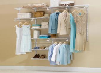 Rubbermaid Adjustable Mount Closet