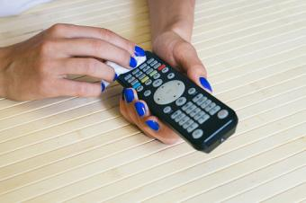 disinfecting remote