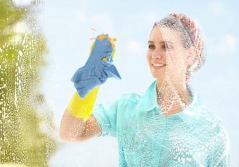 Making sure it's clean
