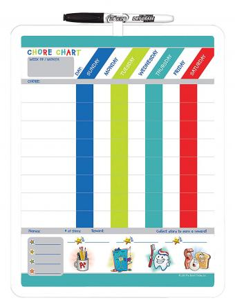 The Board Dudes Dry Erase Chore Chart