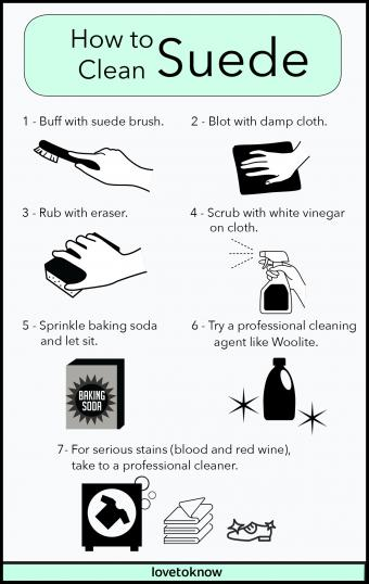 How To Clean Suede And Faux Suede Shoes - Dengarden
