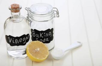 Baking Soda, Vinegar, and Salt