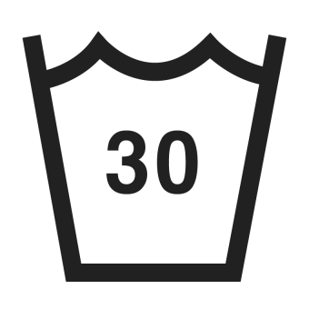 30°C wash symbol