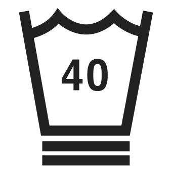 40°C wash symbol
