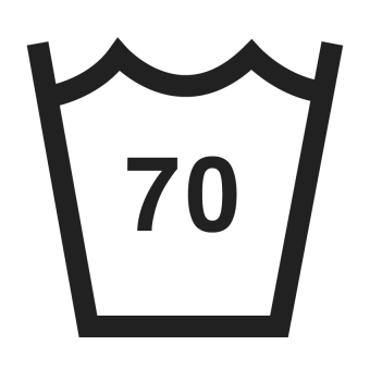 70°C wash symbol