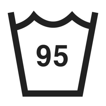 95°C wash symbol