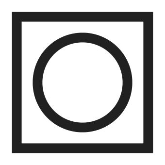 dryer machine symbol