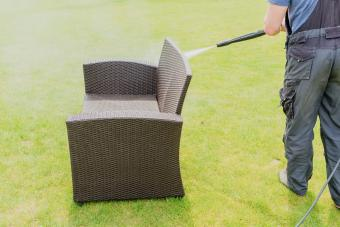cleaning wicker outdoor furniture