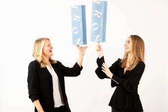 Annabel and Courtney, founders of Nori