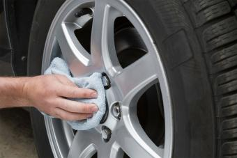 polish aluminum car wheel cover