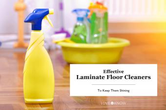Laminate floor products