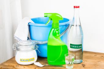 Supplies for effective house cleaning
