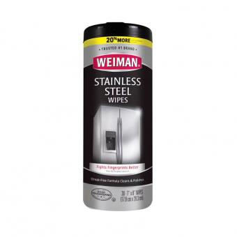Weiman Stainless Steel Cleaner Wipes