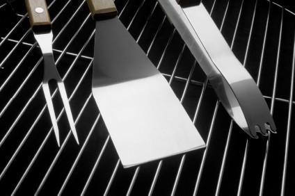 Cleaning a Grill