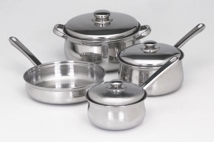 Image result for stainless steel pots