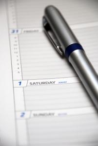 Stay on schedule with weekly and daily organizers.