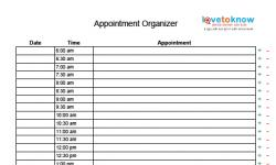 appointment organizer