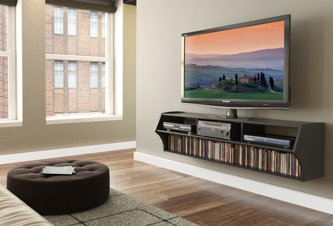 Altus Plus floating TV stand