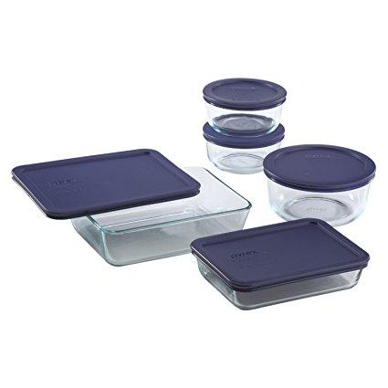 Pyrex 10-Piece Storage Set at Amazon.com