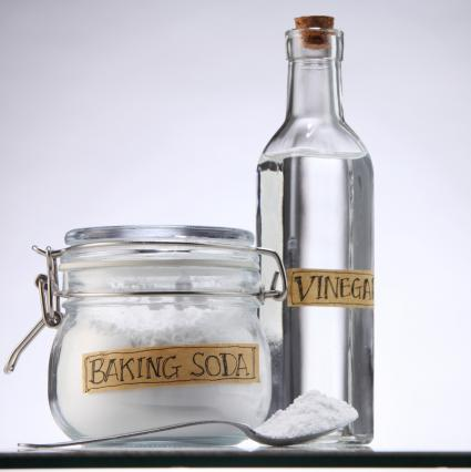 Baking Soda And Vinegar Bottle
