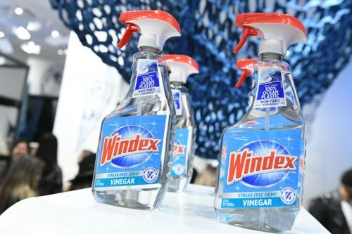 Windex vinegar bottles at Bloomingdales, NYC