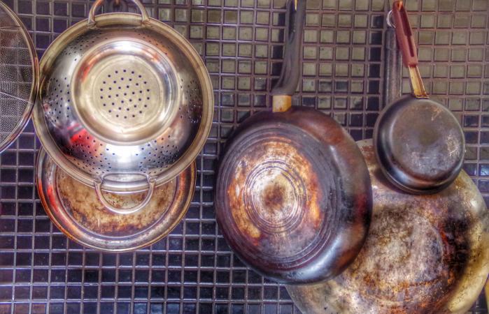 Saucepans And Kitchen Utensils
