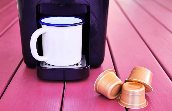 Espresso cappuccino machine