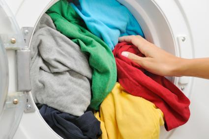 Filling the Washing Machine