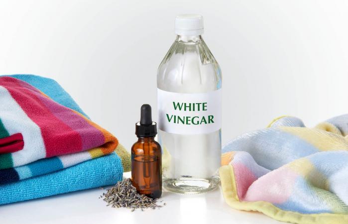 vinegar for laundry