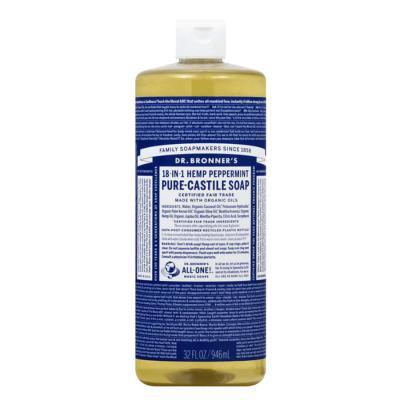 Dr. Bronner's Castile Soap Peppermint