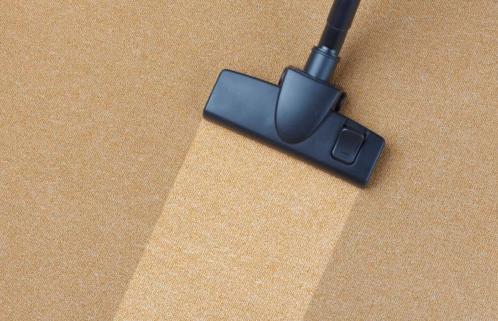 Cleaning and disinfecting carpet