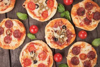 Pizzas miniatura