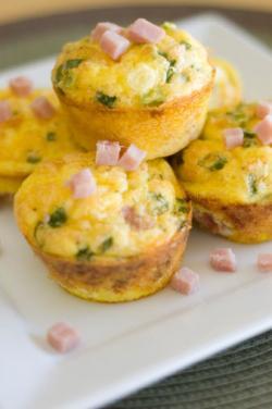 Minicazuelas de huevo al horno
