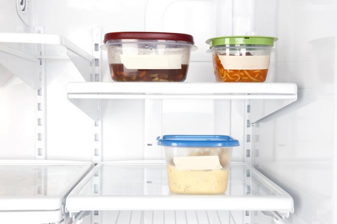 Sobras en el refrigerador