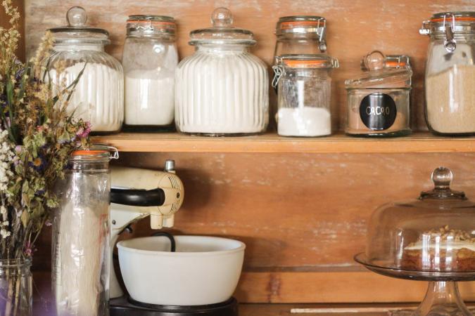 Bases de la despensa de la cocina