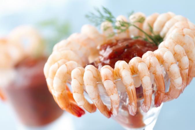 Coctel de camarón