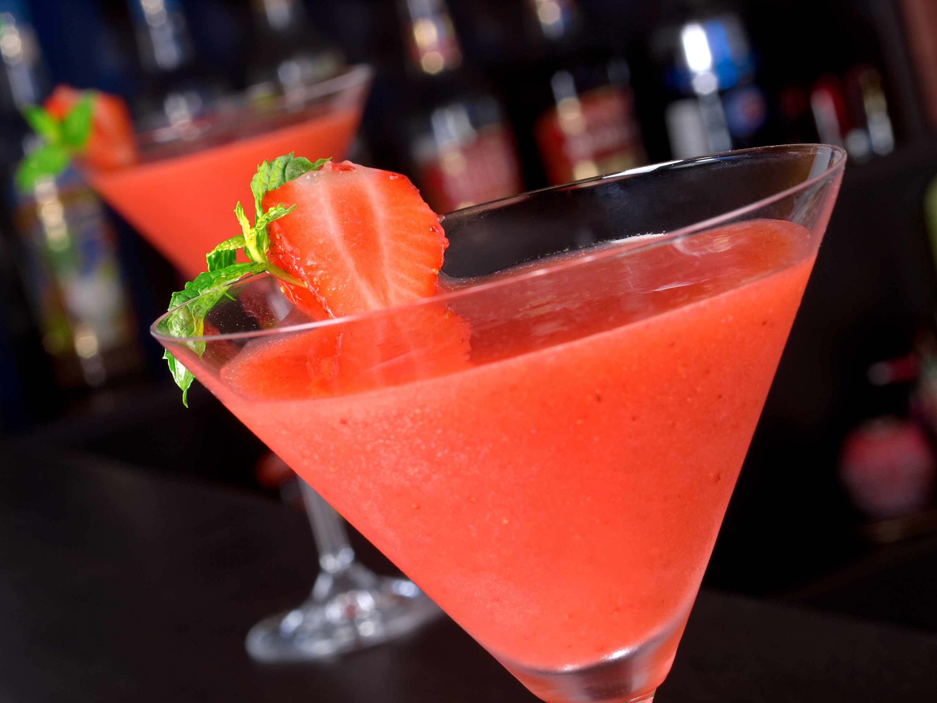 Strawberry Daiquiri Made With Vodka Lovetoknow