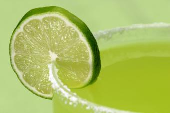 Lime Cordial and Tequila