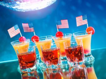 Olympic Celebration Cocktails