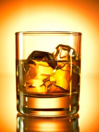 Stinger cognac cocktail